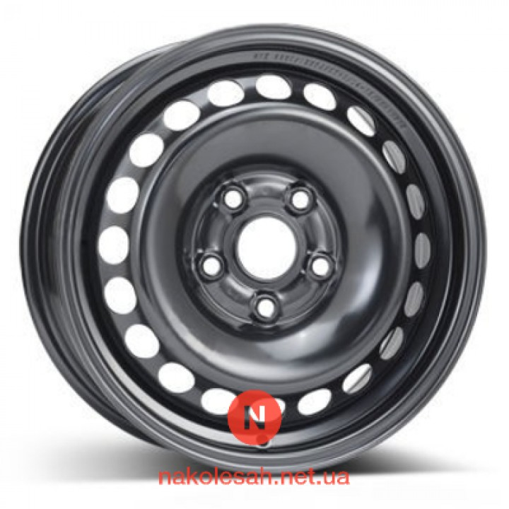 ALST (KFZ) 8860 Audi 6x15 5x112 ET45 DIA57 Black