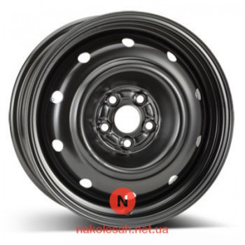 ALST (KFZ) 9552 Subaru 6.5x16 5x100 ET48 DIA56 Black