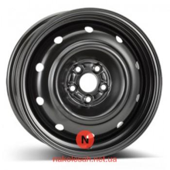 ALST (KFZ) 9565 Subaru 6.5x16 5x100 ET55 DIA56.1 Black
