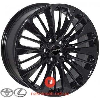 Zorat Wheels 5372 8x18 5x114.3 ET40 DIA60.1 Black